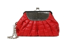 LaBosh Eden Clutch Red