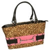 Lime N Roses Sand Buckle Tote Bag Pink Small
