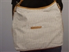 Tommy Hilfiger Picnic Square Designer Hobo Blue Stripes