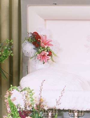 Pastel Beauty Casket Cross