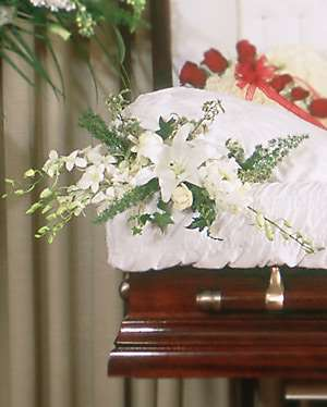 Traditional Elegance Casket Adornment