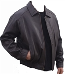 New zealand lamb bomber with zip-out lining
