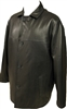lambskin car coat with zip-out lining