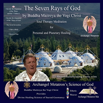 The Seven Rays of God CD