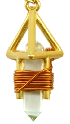 Small 24K Goldplated Deva Etheric Weaver Pendant