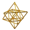 Buddha Maitreya the Christ Small 24K Goldplated Small 24K Goldplated Star Tetrahedron