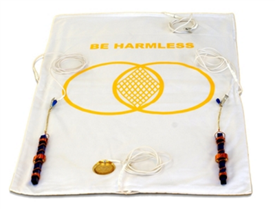 "Half Length Buddha Maitreya the Christ Metatron Mat with 7"" Etheric Weavers"
