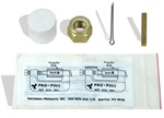 "Discontinued PPF-216 3/4""-NC Propeller Nut Kit with Nylock Nut Cotter Pin, Brass Key & Grease"
