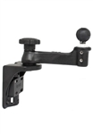 Universal Vertical Mount with Straight Swing Arm and 1.5 Inch Diameter Ball