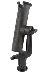 RAM-TUBE 2000 Holder with RAM-ROD Revolution Ratchet/Socket System and 2.5 Inch Diameter Round Flat Surface Base
