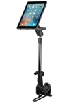 Passenger Side Universal No-Drill RAM POD HD Vehicle Mount with Double Socket Arm and Quick Release for OtterBox uniVERSE Case for iPad