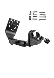 Aviation Yoke Clamp Base, Standard Arm, Cradle Extension Plate and Garmin G1 Hardware