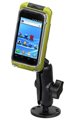 Flat Surface Mount with LARGE RAM-HOL-AQ7-2CU Aqua Box Pro 20 Waterproof Smartphone Holder