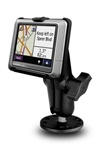 Flat Surface Mount and Garmin RAM-HOL-GA24U Holder (Selected nuvi 200 Series (NON Wide Series))