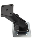 RAM Drill-Down Double Ball Mount with AMPS Plate, Medium Sized Length Arm & Backing Plate