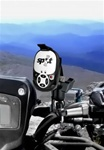 Handlebar Mount with Zinc U-Bolt (Fits .5 to 1.25 Dia.), Standard Sized Length Arm & SPOT RAM-HOL-SPO2U Holder (SPOT IS Satellite GPS Messenger)