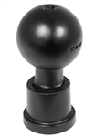 Garmin VIRB MOUNT Adapter with 1 Inch Diameter Rubber Ball (Connects to Factory Supplied Garmin Mounts)