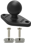 RAM 1 Inch Diameter Ball Adapter with Flat Panel Mounting Hardware