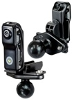 Venom Camera Mount with Diamond Plate and 1 Inch Rubber Ball