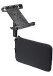RAM Tough-Wedge Car Mount with RAM-HOL-TAB3U Tab-Tite Tablet Holder for 10 Inch Tablets