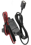 RAM USB Type A Hardwire Charger for Motorcycles