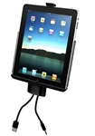 RAM-HOL-AP8D2U Docking Station Cradle for Apple iPad 3, iPad HD, iPad 2 WITHOUT Case or Cover