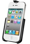 Apple iPhone RAM-HOL-AP9U Cradle for 4th Generation (4G/4S) WITHOUT Case or Cover
