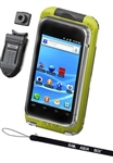 Aqua Box Pro 20 Large Smartphone Waterproof Holder WITH Laynard, Button & Belt Clip (Fits Smartphones Up To 5.38''(H) X 2.8''(W) X 0.55''(D)