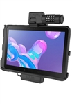 RAM EZ-Roll'r Powered Combo-Locking Cradle for Samsung Tab Active Pro