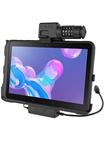 RAM EZ-Roll'r Power + Data Combo-Locking Cradle for Samsung Tab Active Pro