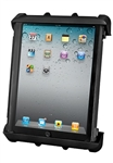 "Universal Cradle for 10"" Screen Tablets WITH or WITHOUT Large Heavy Duty Case/Cover/Skin Including: Apple iPads"