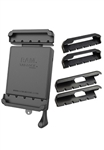 RAM Tab-Lock Universal Spring Loaded Holder for Small Tablets -  (Includes 3 Sets of Cup Ends)