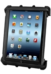 "RAM LOCKING Universal Cradle for 10"" Screen Tablets WITH or WITHOUT Large Heavy Duty Case/Cover/Skin Including: Apple iPads"