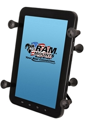 "X-Grip Universal Holder for 7""-8"" Tablets with 1"" Ball (Fits Device Width 2.5"" to 5.75"")"