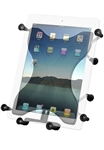 LARGE X Grip III Universal Tablet Holder fits MOST 10 Inch Screens WITH or WITHOUT Case/Cover/Skin Including: iPad Air, iPad 2, iPad3, iPad HD, iPad 4, Asus EEE, MOTO XOOM, XOOM2, Lenovo LePad Slate, Galaxy 10.1