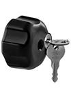 "Double Socket Arm Keyed Lock for RAM-B-201 Series with 1/4""-20 Brass Hole"