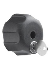 "Double Socket Arm Keyed Lock for RAM-201 Series with 1/4""-20 Brass Hole"