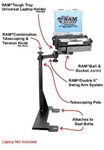 Ford Econoline Van (1995-2014) Panasonic Toughbook Laptop Mount System