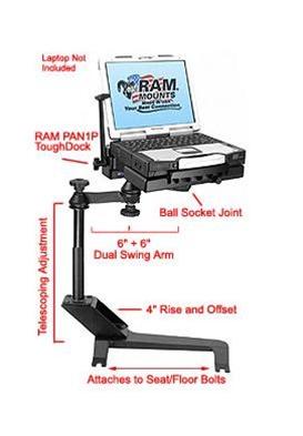 Fresh Swing Away Laptop Stand
