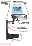 National Seating Captain's Chair (2006-2011) Laptop Mount System