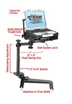 Chevrolet: Avalanche, Silverado, Suburban, Tahoe (2007-2013), GMC: Denali, Sierra, Yukon/XL (2007-2013), and Hummer H2 (2003-2011) Panasonic Toughbook Laptop Mount System