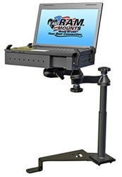 Ford: F-150 (2015-Newer), F-250, F-350, F-450, F-550, Super Duty (2017-Newer), Transit Connect (2015-Newer) Laptop Mount System