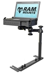 Universal No-Drill Normal Configuration (Tele-Pole Far Left Side) Laptop Mount System