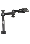 8  Inch Male and 9 Inch Female Tele-Pole with Articulating Arm RAM-2461U VESA Plate