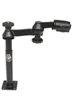 8 Inch Male and 9 Inch Female Tele-Pole with Articulating Swing Arm (No RAM-202U)