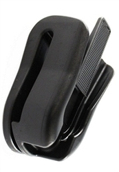 RAM Rubber Belt Clip with Quick Snap Octagon Button Clip