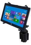"RAM-A-Can Cup Holder Mount with RAM-HOL-UN9U LARGE Universal Tablet Cradle fits MOST 10"" Screens WITH or WITHOUT Case/Cover/Skin Including: iPad Air, iPad 2, iPad 3, iPad HD, iPad 4, Asus EEE, MOTO XOOM, XOOM2, Lenovo LePad Slate, Galaxy 10.1"