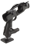 RAM-ROD 2007 Fly Rod Jr. Fishing Rod Holder with Flat Surface Rectangle Base