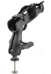 RAM-ROD 2007 Fly Rod Jr. Fishing Rod Holder with 5 Spot Mounting Base Adapter