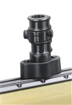 "RAM Adapt-A-Post Quick Release Track Base (Track Dimensional Range: .250"" - .562"")"